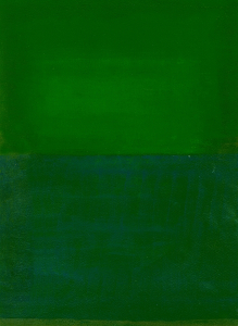 Space, Time, Motion, Green, 2010 (mixed media)